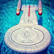 Creata International USS Enterprise Pool Lounge loose
