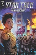 Star Trek Discovery - Succession, issue 1 cover A
