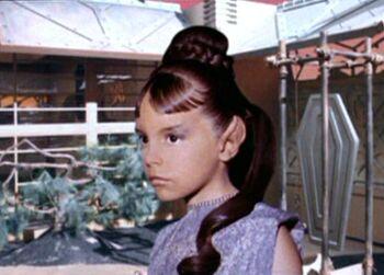 T'Pring, age 7 (2237)