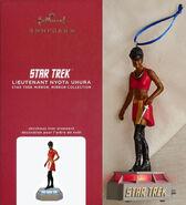 Hallmark 2020 Mirror Mirror Uhura Storytellers ornament