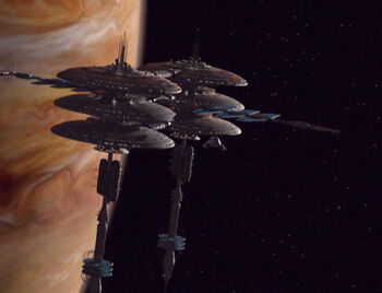 Jupiter Station in the 24th century