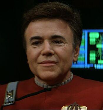 Commander Chekov in 2293