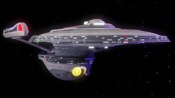 USS Archimedes in 2381