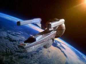 USS Pasteur, Earth orbit