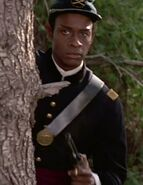 Tuvok in Union Army second lieutenant