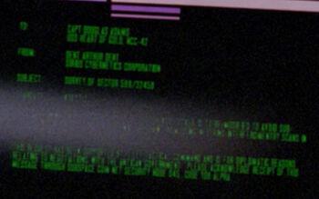Dent Arthur Dent on a Starfleet Command order