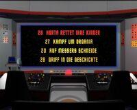 DVD-Menü TOS Staffel 1 Disc 7