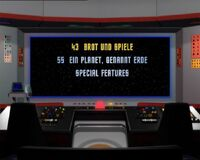 DVD-Menü TOS Staffel 2 Disc 7