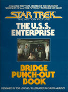 Star Trek The Motion Picture The USS Enterprise Bridge Punch-Out Book