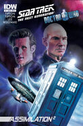 TNG Who issue 1 cover A