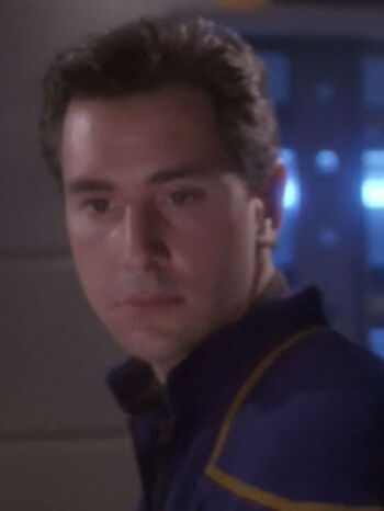 ... as Ensign Tanner