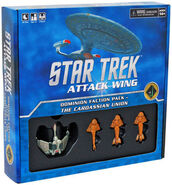ST Attack Wing Dominion Cardassian Union Faction Pack