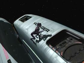 Species 8472 on Voyager hull.jpg