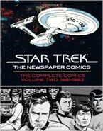 Star Trek Newspaper Strip Vol 2 cover