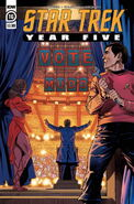 Star Trek Year Five issue 16 cover A