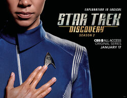 Star Trek Discovery Season 2 Michael Burnham banner 2.jpg