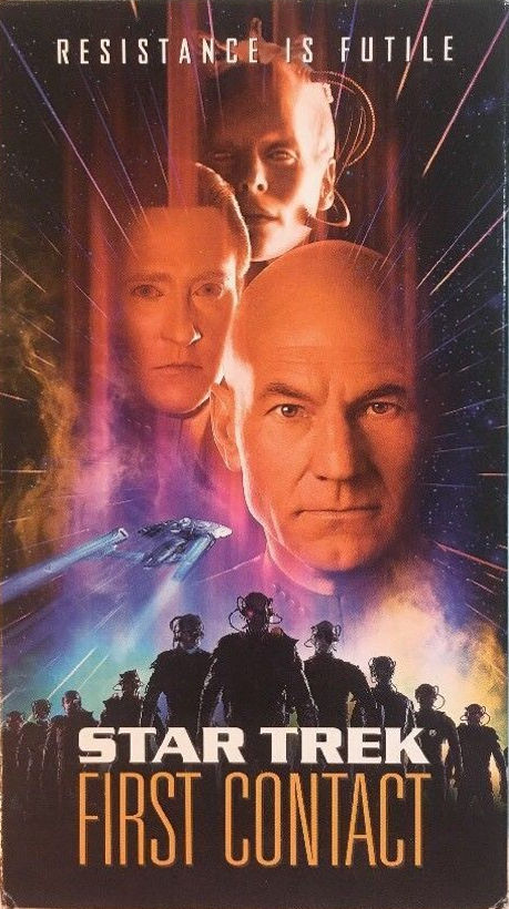 Star Trek: First Contact (VHS)
