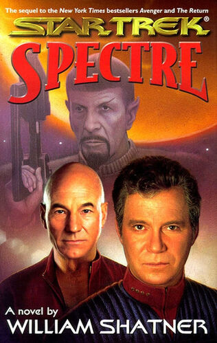 Cover of book 1, Spectre
