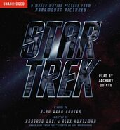 Star Trek (novel) audiobook cover