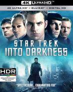 Star Trek Into Darkness 4K UHD US cover