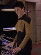 Weiblicher Lieutenant Junior Grade Umweltkontrolle Enterprise-D 2370