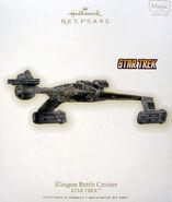 2009 Hallmark Klingon Battle Cruiser