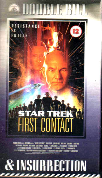 Star Trek: First Contact/Star Trek: Insurrection (VHS)