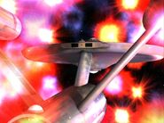 Zetarians engulf the Enterprise, remastered