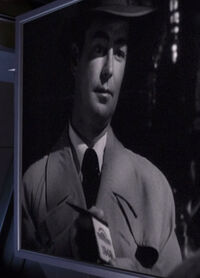 """Alan Ladd dans """"Appointment with Danger"""""""