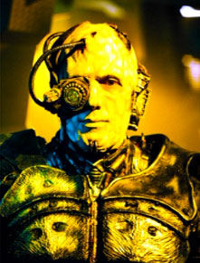 """Avery as a Borg in """"Regeneration"""""""
