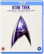 Star trek original motion picture collection (blu-ray) 2010 UK