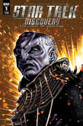 Star Trek Discovery - The Light of Kahless, issue 1 cover A