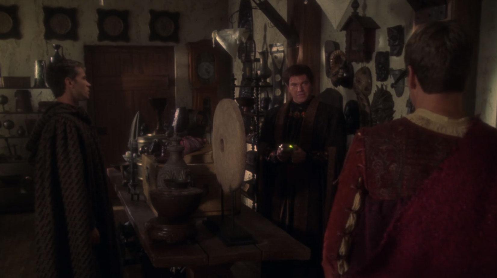 Archer and Trip in Garos' shop.jpg