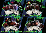 Attack Wing Klingon Civil War OP promos