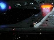 USS Enterprise-D, aft torpedo launcher and impulse drive