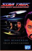 VHS-Cover TNG Der Schachzug