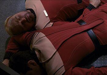 Burke and Samno, murdered by Valeris