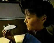 Hallmark Ogawa USS Enterprise-D Commercial
