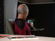 Picard's battle bridge ready room desk
