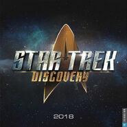 Star Trek Discovery Calendar 2018