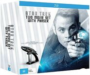 Star Trek Two Movie Set With Phaser Blu-ray