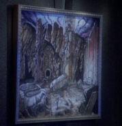 Bajoran painting, Captive Pursuit