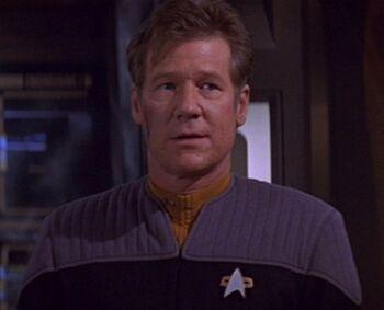 Lieutenant Daniels in 2375