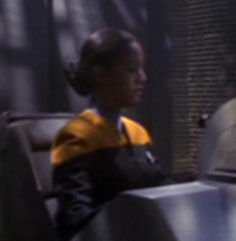 ...as a holographic Starfleet officer