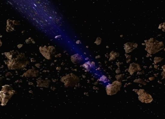 Pelloris asteroid field