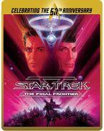 Star Trek V The Final Frontier Blu-ray cover Region B steelbook reissue