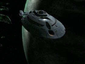 USS Bellerophon orbiting Romulus.jpg