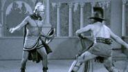 William Harrison battles Claudius Marcus