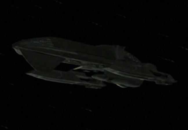 Antarian starship