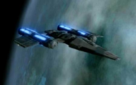 Drayan starship